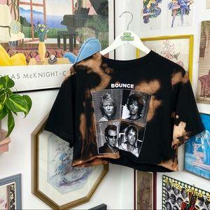 Vintage Y2K 2003 Bon Jovi Bounce Cropped T-Shirt